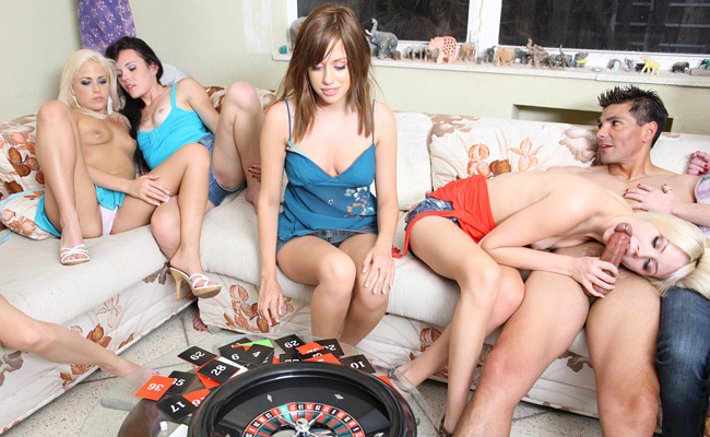 Sex roulette dice teen orgy with michelle honeywell039s girls - 1 7